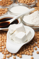 Tofu and other soy products