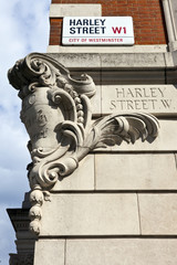 Harley Street in London