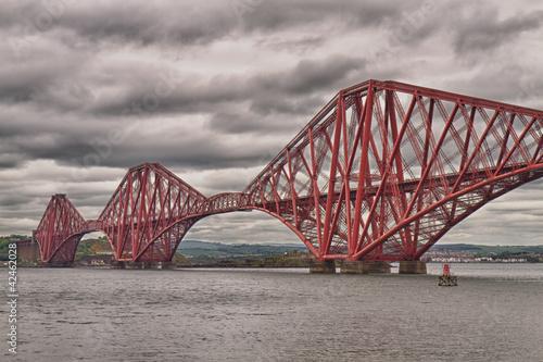 Zdjęcia na płótnie, fototapety, obrazy : Firth of Forth Bridge, Scotland, United Kingdom