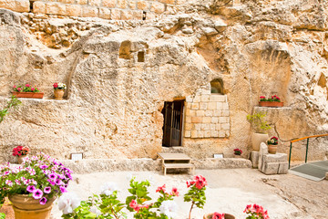Garden Tomb in Jerusalem, Israel