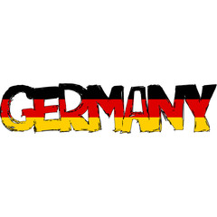Germany Flag Text