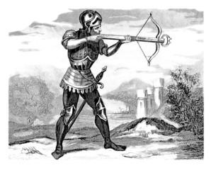 Crossbowman - Arbalétrier - Armbrustschütze - 14th