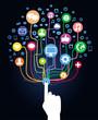 vector internet concept