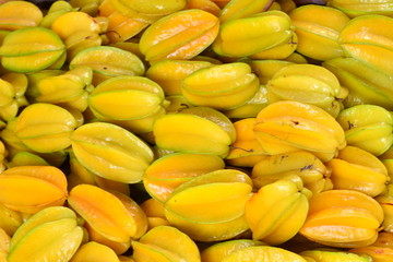 Star apple( Carambola) fruit