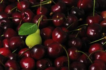 una pere tra le ciliegie