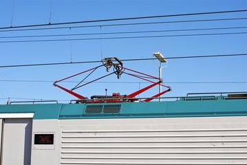 Treno in corsa - Chiaravalle (AN)