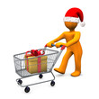 Christmas Shopping Santa