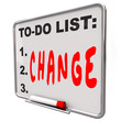 To-Do List Change Word Dry Era...
