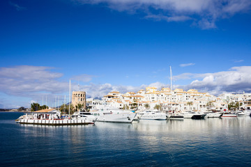 Port in Puerto Banus