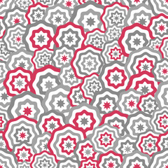 Abstract seamless background pattern. Vector illustration.