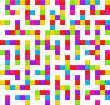 Infinite maze seamless background pattern. Vector.