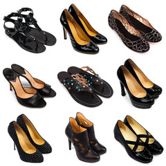 Dark female shoes-2