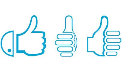 Thumb Up. Set