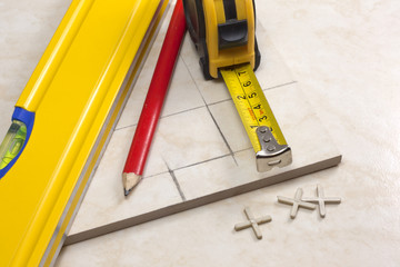 tiler, tiles and planning work