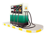 petrol dispenser unit
