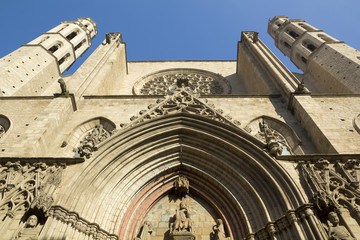 Barcelona - gothic cathedral Santa Maria del mar