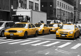 Fototapety New York Cabs