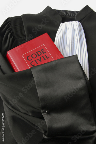 canvas print picture robe d'audience