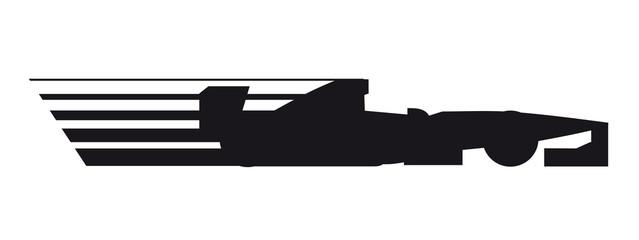 Formula car icon