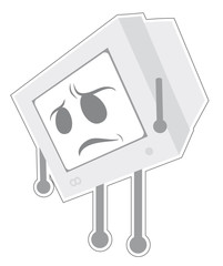 Retro computer expression
