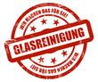 Sternen Stempel rot grunge rt WMDFS GLASREINIGUNG