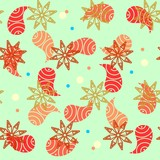 Beautiful seamless pattern in japanese style
