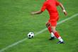 Spieler mit Ball