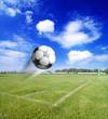 Ecke im Fussballspiel