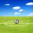 Schönes Fussball Motiv