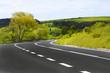 Leinwanddruck Bild - Winding road