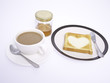 Coffee, Toast and Honey
