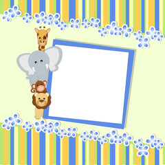 baby shower - bambino - place your text