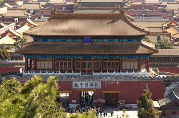 Peking - Blick vom Kohlehügel