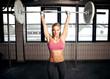 Shoulder Press Fitness Exercise