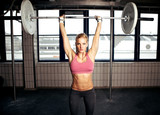 Shoulder Press Fitness Exercise