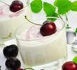 Kirschjoghurt