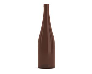 Flasche Braun Schmal