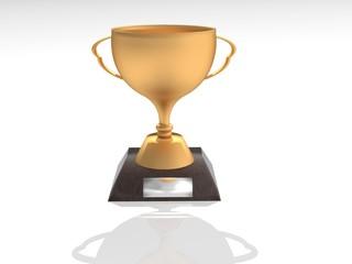 Trofeo de bronce (3D)