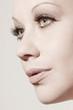 beautiful woman with perfect skin