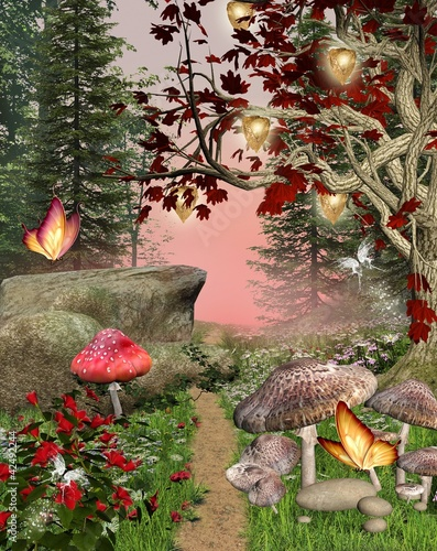 Enchanted nature series - pathway