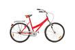 Studio shot of a bicycle