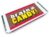 Brain Candy Chocolate Bar Wrapper Stimulate Ideas poster
