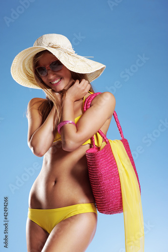 Summer vacation woman