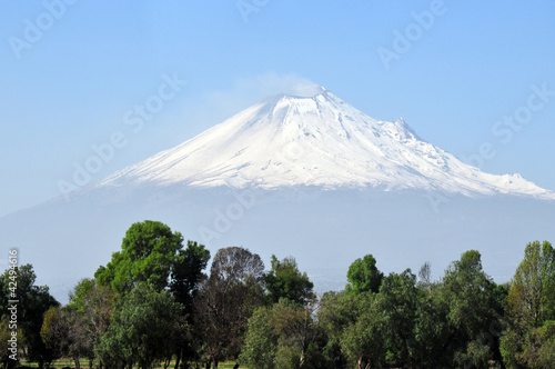 Popocatepetl volcano mountain