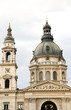 domes towers St. Stephen's Basilica Cathedral Budapest Hungary