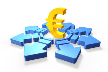 Economic future of the euro