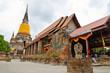 old temple at  Ayutthaya, Thailand.