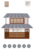 江戸の家 japanese old house