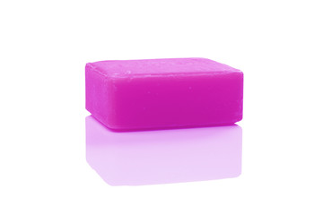 purple soap