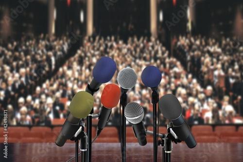 Speech in the hall